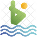 Water Dive Swimming Pool Dive Icon