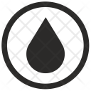 Water Drop Label Icon