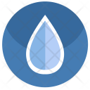 Water Drop Fluid Icon