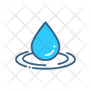 Water Drop Droplet Of Water Drop Icon