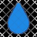 Water Drop Tear Icon