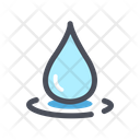 Eco Nature Water Drop Icon