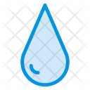 Water Drop Aqua Rain Icon