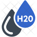 Formula H 2 O Water Icon