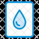 Eco Drop Water Icon
