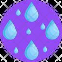 Rain Climate Droplet Icon