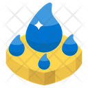 Water Drops Icon