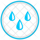 Water Drops Rain Icon
