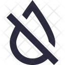 Drought No Water Icon