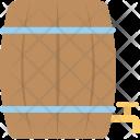 Water Drum Storage Icon