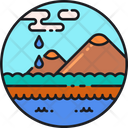 Water Ecosystem Aquatic Freshwater Icon