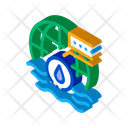 Oceanology Science Education Icon