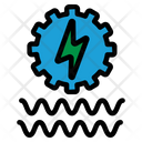 Water Energy Electricity Energy Icon