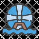 Electric Energy Turbine Icon