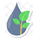 Water Energy Hydropower Watermill Icon