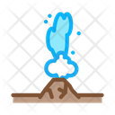 Water Geyser Heat Icon