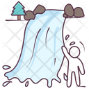 Water Falling Icon
