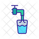 Water Treatment Drain Icon