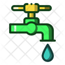 Water Faucet Drainage Icon