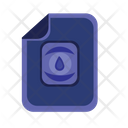 Water File Icon