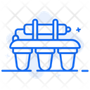 Wastewater Treatment Water Filtration Water Plant Icon