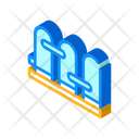 Water Filtration Factory Icon