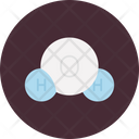 Water Formula Chemistry Hydrogen Icon