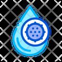 Liquid Drop Germ Icon