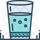 Water-Glass Icon