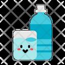 Water Glass Bottle Bottle Glass Icon