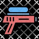 Water Gun Gun Kid And Baby Icon