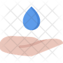 Water Hand Pack Symbol Icon