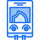 Water Heater Plumber Icon