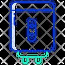 Water Heater Water Geyser Water Boiler Icon