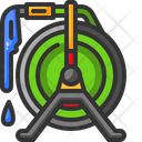 Water Hose Yard Watering Icon