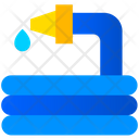 Water Hose Water Pipe Hose Icon