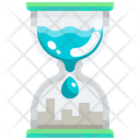 Water Hourglass Icon