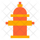 Hydrant Water Construction Icon