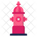 Burn Flame Hydrant Icon