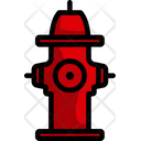 Hydrant Safety Water Icon