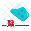 Water Infection Virus Icon