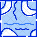 Water Level Water Sea Icon