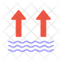 Water Level Up Icon