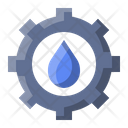 Water Gear Settings Icon