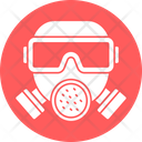 Water Mask Chemical Mask Gas Mask Icon