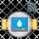 Water Measurement Metering Smart Home Icon