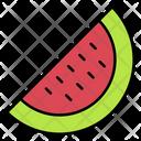 Water Melon Melon Summer Icon