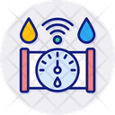 Water Meter Counter Measurement Icon