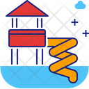 Park Aqua Family Enjoyment Icon