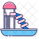 Water Park Water Slide Water Icon